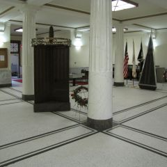 Grundy County Courthouse first floor lobby
