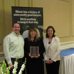 Deere & Company honorees for the John C. McAndrews Pro Bono Service Award