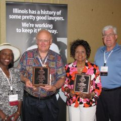 The ISBA congratulates newsletter editor service award winners