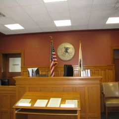 Updated courtroom