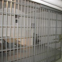 Jail in basement of Kane County Courthouse