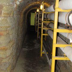 Old prisoner tunnel - now leads to boiler room
