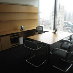 A typical partner's office on the 31st floor.
