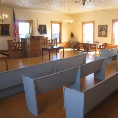 Another view of Lincoln Courtroom
