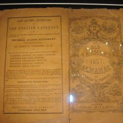 Farmers Almanac from 1857 similar to one used by Lincoln to disprove key witness.