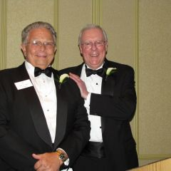 Outgoing ISBA President Jack Carey and new ISBA President John O'Brien