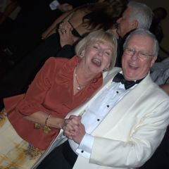 President John O'Brien and his wife Karen on the dance floor