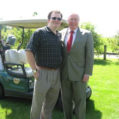 YLD Vice Chair Bob Fink with ISBA President John O'Brien