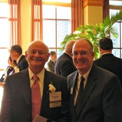 Distinguished Counsellor Norman Shubert and ISBA 2nd Vice President John Thies