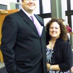 (Click to enlarge) New admittee David Mullins of Rockford with his wife Wendi