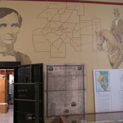 """A wall dedicated to our 16th President in the """"Lincoln Wing"""""""