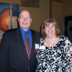 ISBA Board of Governors James McCluskey and Lisa Nyuli