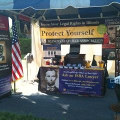 ISBA tent at Illinois State Fair photo gallery