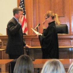 Mudge sworn-in as Madison County judge