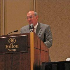 ISBA President Mark Hassakis
