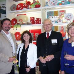 ISBA Board of Governors member Dion Davi, ISBA Director of Bar Services Janet Sosin, John Kincaid and Sharon Kincaid