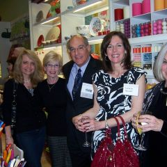 Left to right: Michele Jochner, Janet Hassakis, ISBA President-Elect Mark Hassakis, Michelle Browder and Pat Browder