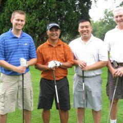 Mike Scheurick, Gil Dizon, Aaron Szeto, and Joe Sosnowski
