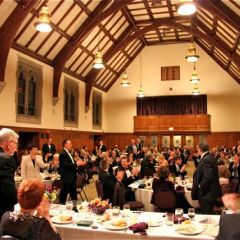 The Installation Ceremony was held at the Mayslake Peabody Estate in Oak Brook.