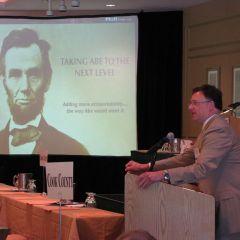 ISBA President John G. Locallo addresses the Assembly