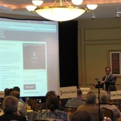 Jim Flynn of Hult Advertising unveils the ISBA's new consumer website.