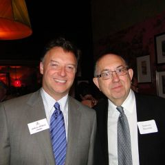 ISBA President John Locallo and Anthony Slawniak