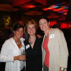 IBF Executive Director Lisa Corrao, Leslie Corbett, Lisa Colpoys