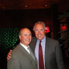 ISBA Board member Umberto Davi and Leonard DeFranco