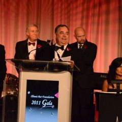 Gala Co-Chair Chuck Douglas, Gala Co-Chair Rudy Schade, Board Gala Chair Perry Browder, Board Gala Chair Shawn Kasserman