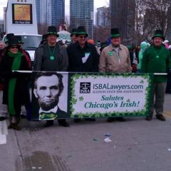 ISBA members march in St. Patrick's Day Parade photo gallery