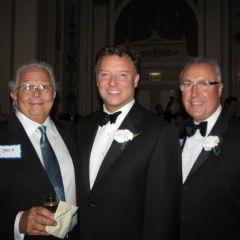 ISBA Immediate Past President Jack Carey, President Locallo and ISBA Board member Umberto Davi