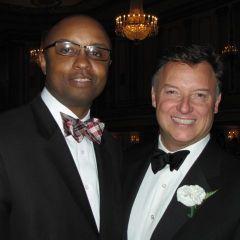 ISBA Board member Vince Cornelius, and President Locallo