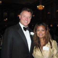 President Locallo and ISBA Board member Jessica Arong O'Brien