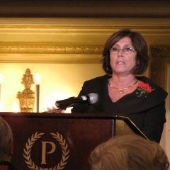 Helen M. Cerise Award recipient Mary Seminara Schostok