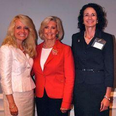 Michele Jochner, Lilly Ledbetter, Jayne Reardon - Executive Director of the Illinois Supreme Court Commission on Professionalism