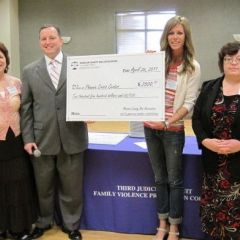 Madison County Bar Association presents checks to Oasis Women's Center and Phoenix Crisis Center photo gallery