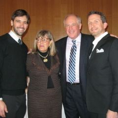 Several ISBA members attended a reception and screening for Robert Redford's new movie