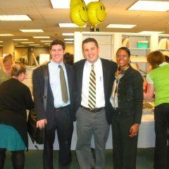 SSBA Officers attending the breakfast are (from left): Dennis Dwyer (Treasurer), William Galati (President) and Dawn Porter (Vice President).