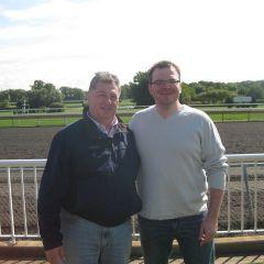 ISBA Board member Mauro Glorioso and YLD Immediate Past Chair Bob Fink