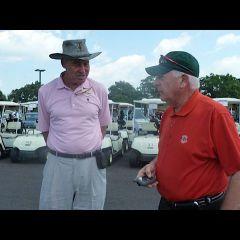 Cog Hill owner Frank Jemsek with event sponsor David Sosin
