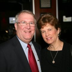 Past YLD Chair David Thies and his wife Jody