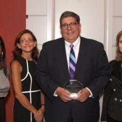 President Felice receives NIU Alumnus of the Year Award