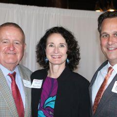 The Hon. Russell Hartigan, Jayne Reardon, and Brad Pollock