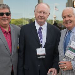Richard Felice, Hon. Thomas Kilbride, and ISBASecretary Al Durkin