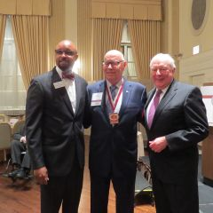 Vincent Cornelius, Judge Jim Holderman, and John O'Brien