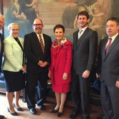 David Sosin, Nancy Hangedan, William F. Moran, Hon. Rita Garman, Nathan Handegan, Hon. John W. Belz