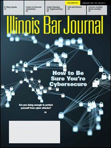 February 2018 Illinois Bar Journal Cover Image