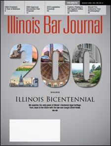 August 2018 Illinois Bar Journal Cover Image