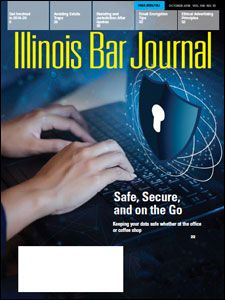 October 2018 Illinois Bar Journal Cover Image